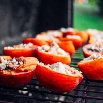 Jane's Grilled Peaches Recipe