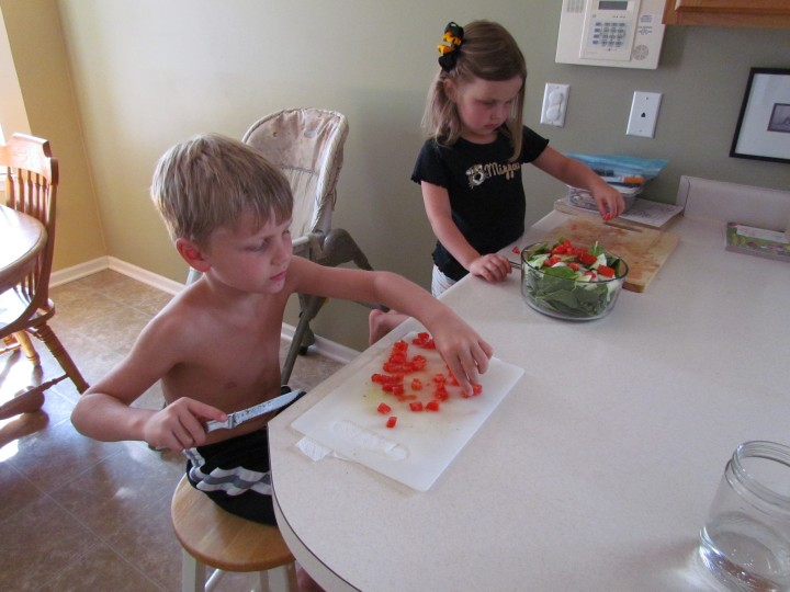 easy kid activities at home
