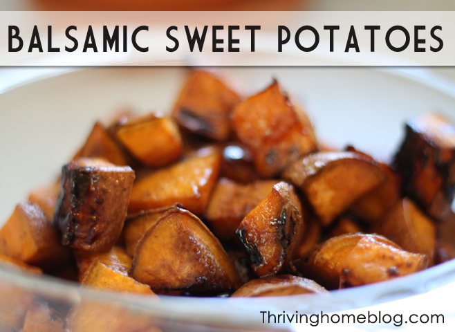 balsamic sweet potato recipe
