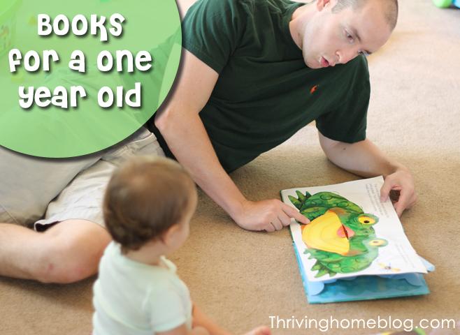 books for one year olds