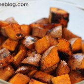 Balsamic Sweet Potatoes