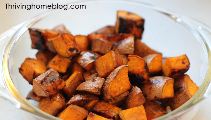 The unique flavor from the glaze makes these sweet potatoes taste out of this world!
