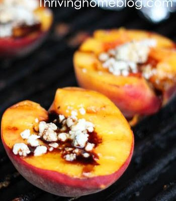 Jane's Grilled Peaches Recipe
