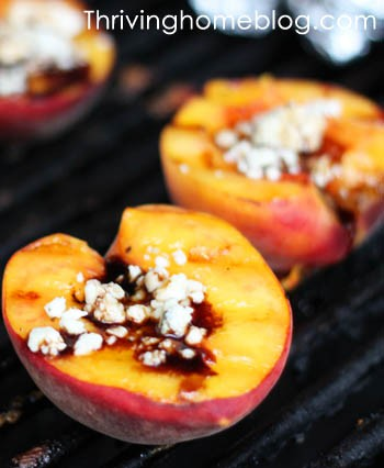 make grilled peaches