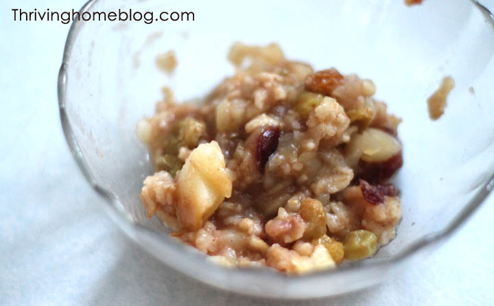 oatmeal recipe for baby