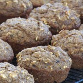 Zucchini Flaxseed Muffins Recipe