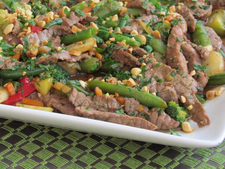 Szechuan Steak Stir-Fry