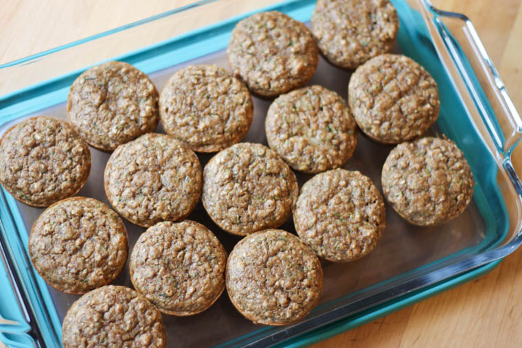 These freezable Zucchini Flaxseed Muffins are not only moist and totally yummy, but they are a great way to include some sneaky nutrition into a kid-favorite.