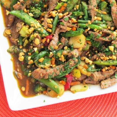 Szechuan Steak Stir-Fry Recipe {Freezer Meal}