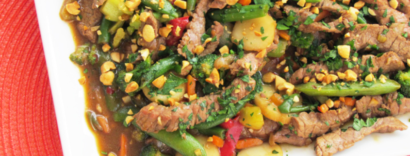 Szechuan Steak Stir-Fry Recipe