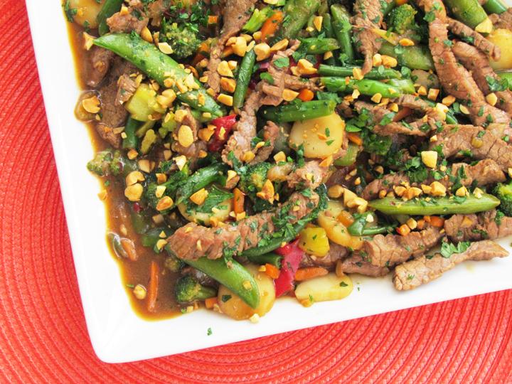 Szechuan Steak Stir-Fry Recipe