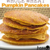 Whole Wheat Pumpkin Pancakes Recipe {Freezer Meal}
