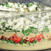 Mediterranean Layered Dip Recipe