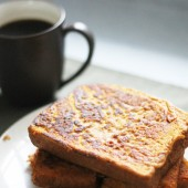 Pumpkin Whole Wheat French Toast Recipe