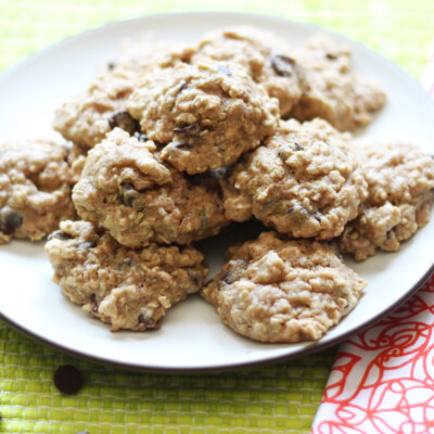 Whole Grain Chocolate Chip Cookies--Feel Good About These!