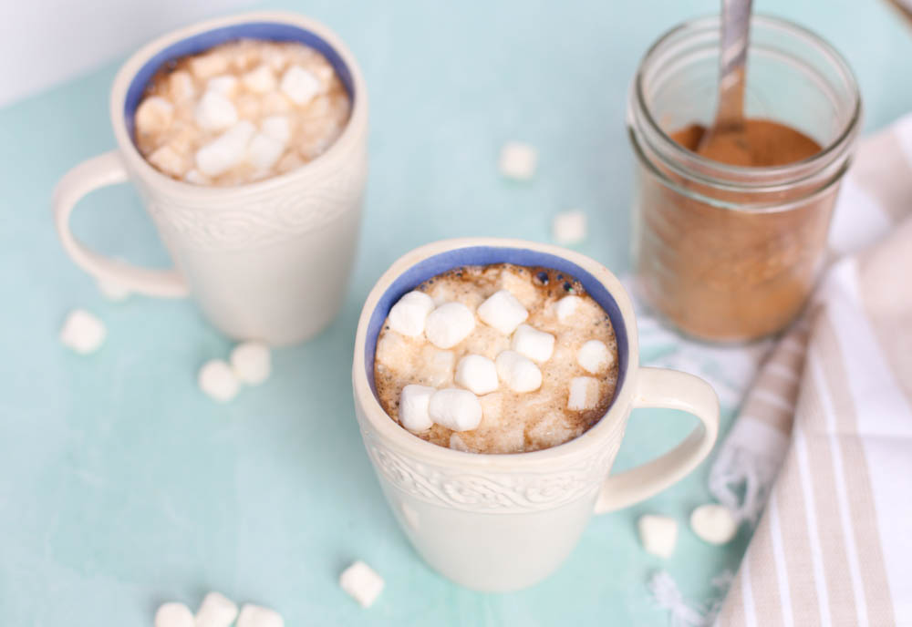 ghirardelli hot chocolate with marshmallows