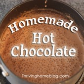 Snowed in? Take a Stab at Some Homemade Hot Chocolate!