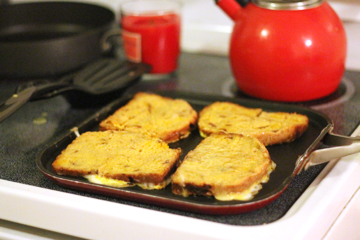 Try this delicious, moist bread that's a cinch to throw together in your bread machine. It's even fantastic for french toast!