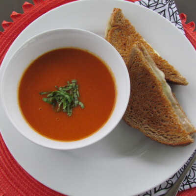 Tomato Bisque Recipe (Panera Bread Fake-Out) {Freezer Meal}