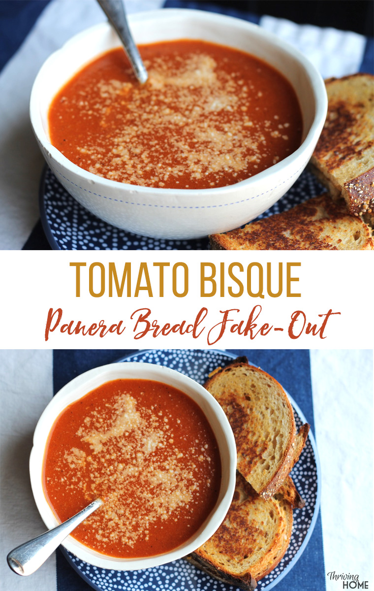Homemade Tomato Bisque