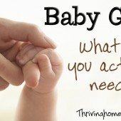 Baby Gear: What Do You Actually Need?
