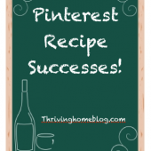 Pinterest Recipe Successes: April Edition
