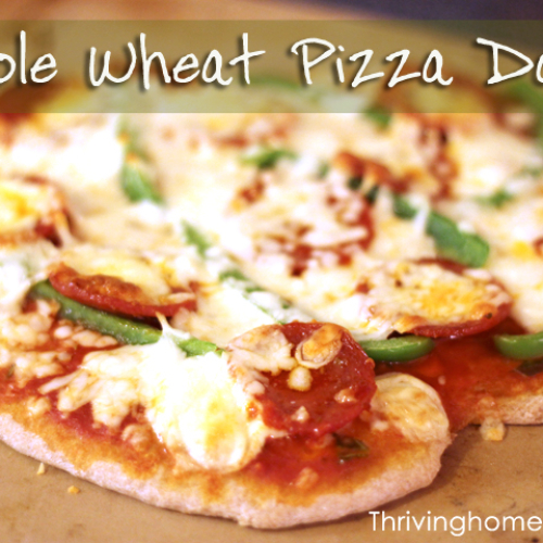 Whole Wheat Pizza Dough: A Bread Machine Recipe