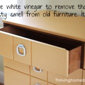 How to Take the Musty Smell Out of Old Furniture