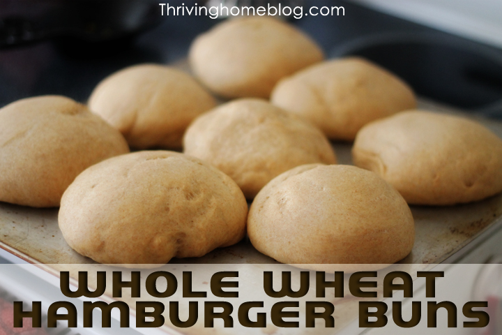 Make the perfect, healthy hamburger buns using your bread machine. Made with whole wheat flour, these homemade buns are sure to impress!