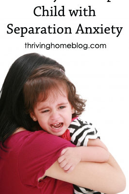 Help Child with Separation Anxiety