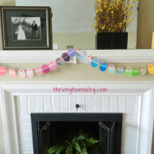 DIY Easter Decorating Idea: Repurpose Paint Chips into an Easter Garland