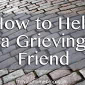 Practical Ways to Help a Friend Through Grief