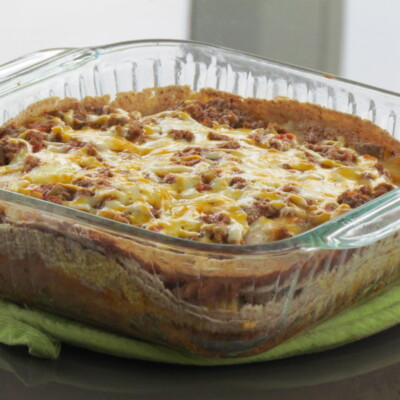 Burrito Pie {Freezer Meal}