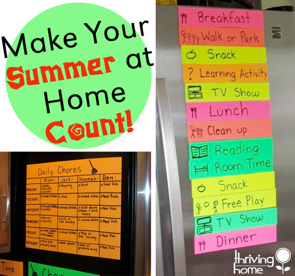 How to Make Your Summer at Home Count: Having a few summer goals for your kids can change everything! This post is all about setting goals and living those out all summer long. Full of ideas!!!