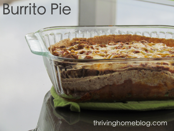 Layers of tortillas, meat, cheese, and refried beans makes this mexican-style lasagna a family favorite!