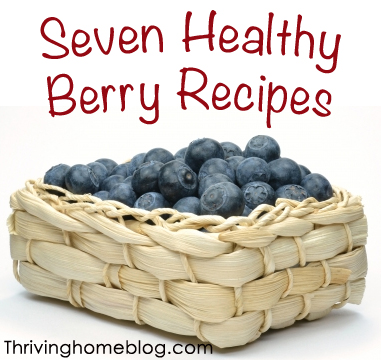 healthy berry recipes