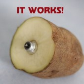 It Works! How to Remove a Broken Lightbulb with a Potato