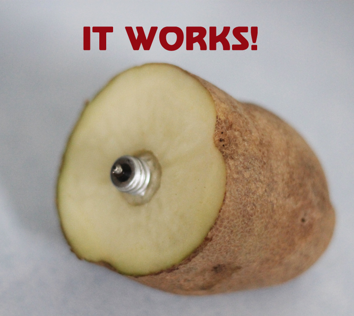 It Works How To Remove A Broken Lightbulb With A Potato