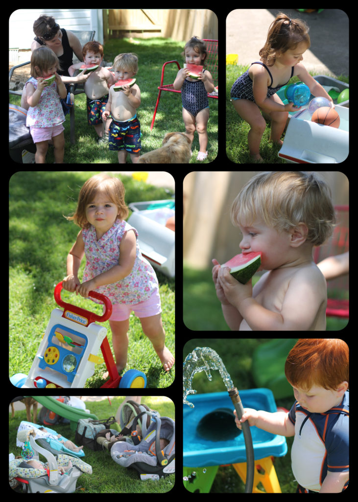 water play date