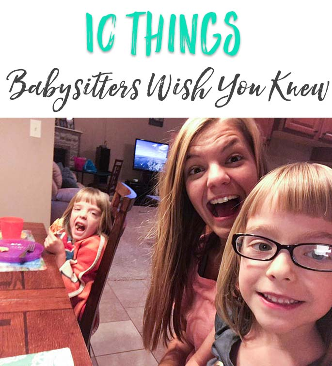 After interviewing 20+ veteran babysitters, here is a collection of things they wish parents knew. Great read!