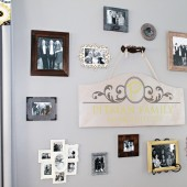 How to Create a Photo Wall 10