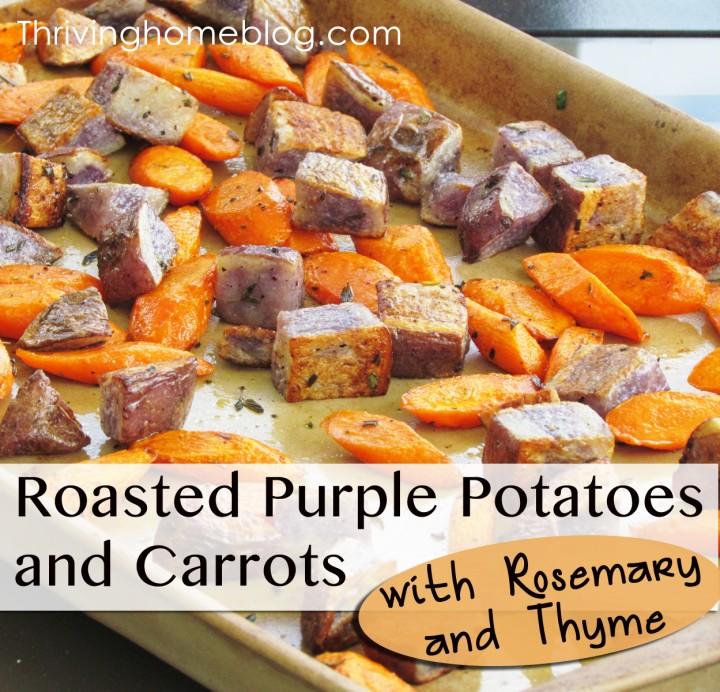 Roasted Potatoes and Carrots Recipe