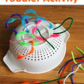 Simple Toddler Activity