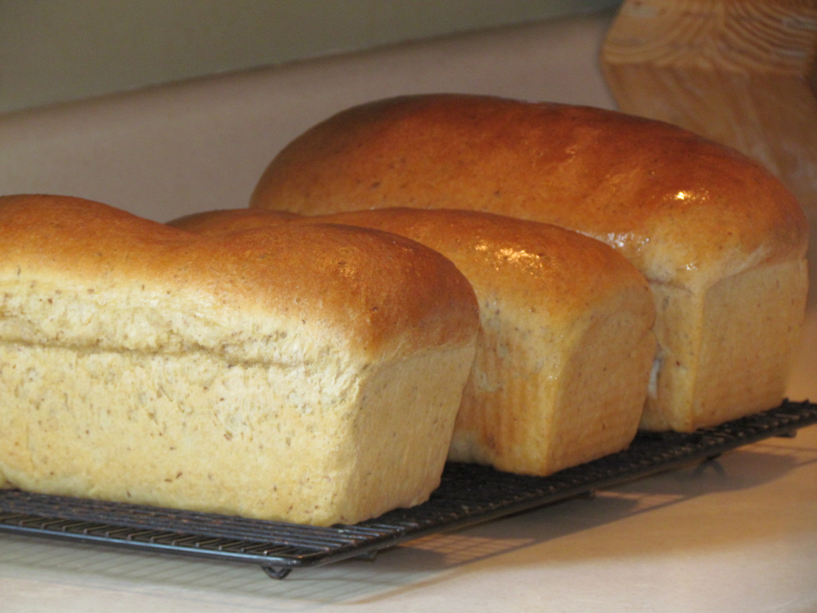 homemade wheat sandwich bread