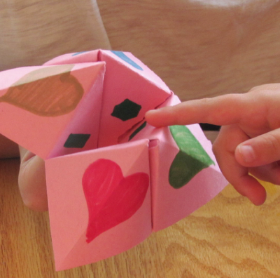 Family Devotional Cootie Catcher