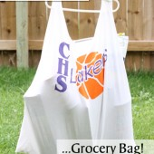 Turn Old T-Shirts into Reusable Grocery Bags!