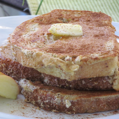 Apple cinnamon french toast recipe