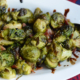 Brussels Sprouts with Bacon and Honey Balsamic Reduction