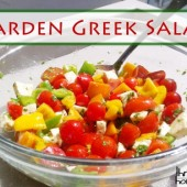 Garden Greek Salad Recipe