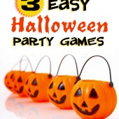 3 Easy Halloween Party Games
